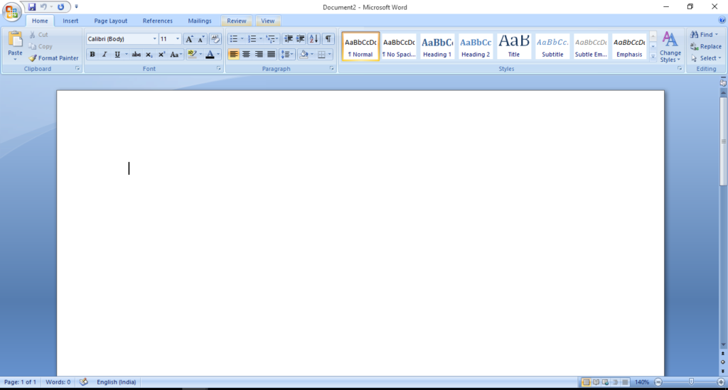 Microsoft office for writing articles