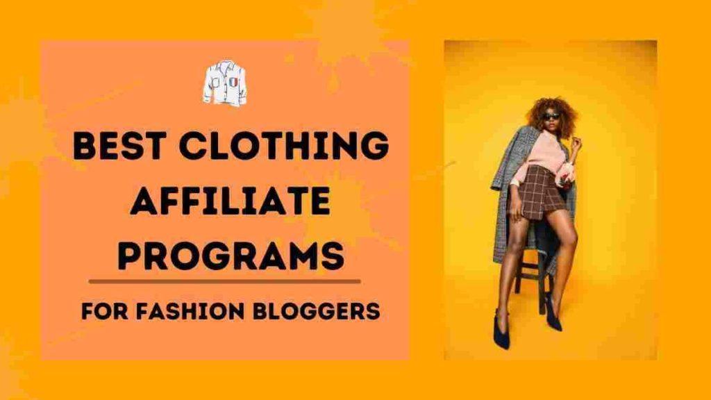 clothing affiliate program