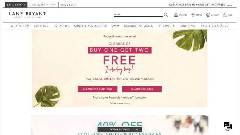 Lane Bryant clothing affiliate program