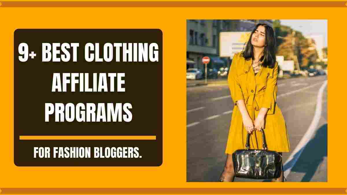 Clothing affiliate programs