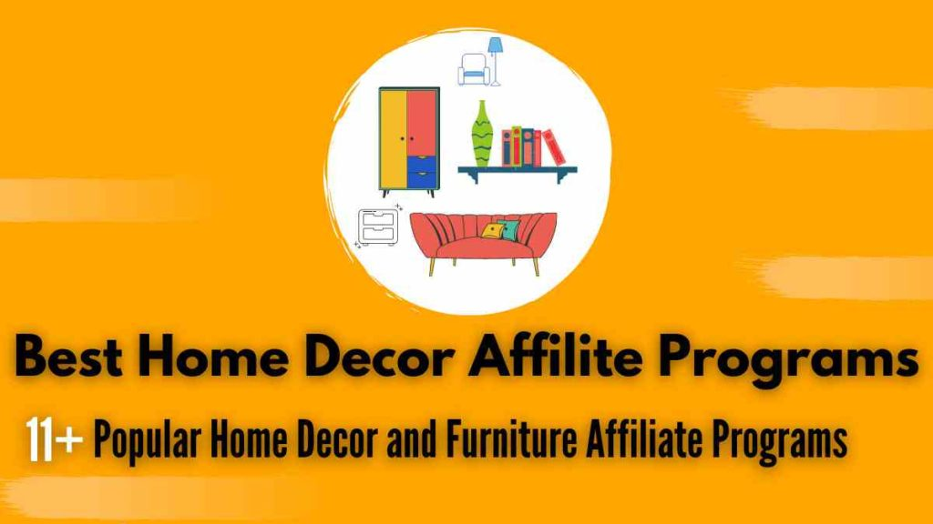 home decor affilite porgrams